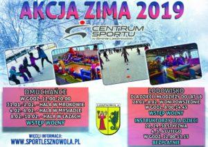 Akcja Zima wCentrum Sportu