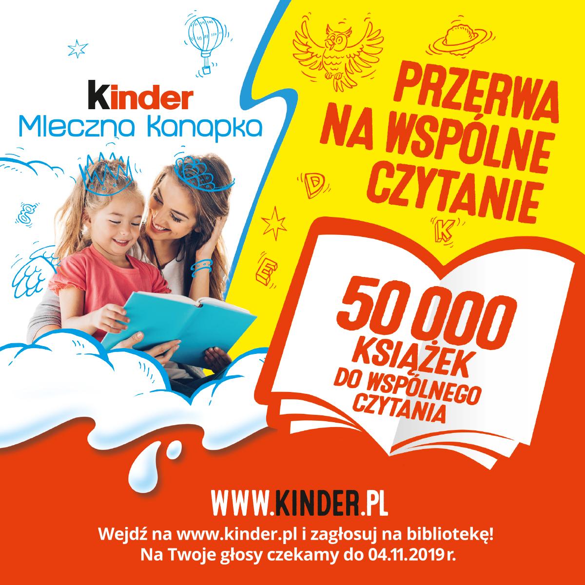 Zagłosuj naGminną Bibliotekę Publiczną wLesznowoli ipomóż jej wygrać książki dowspólnego czytania