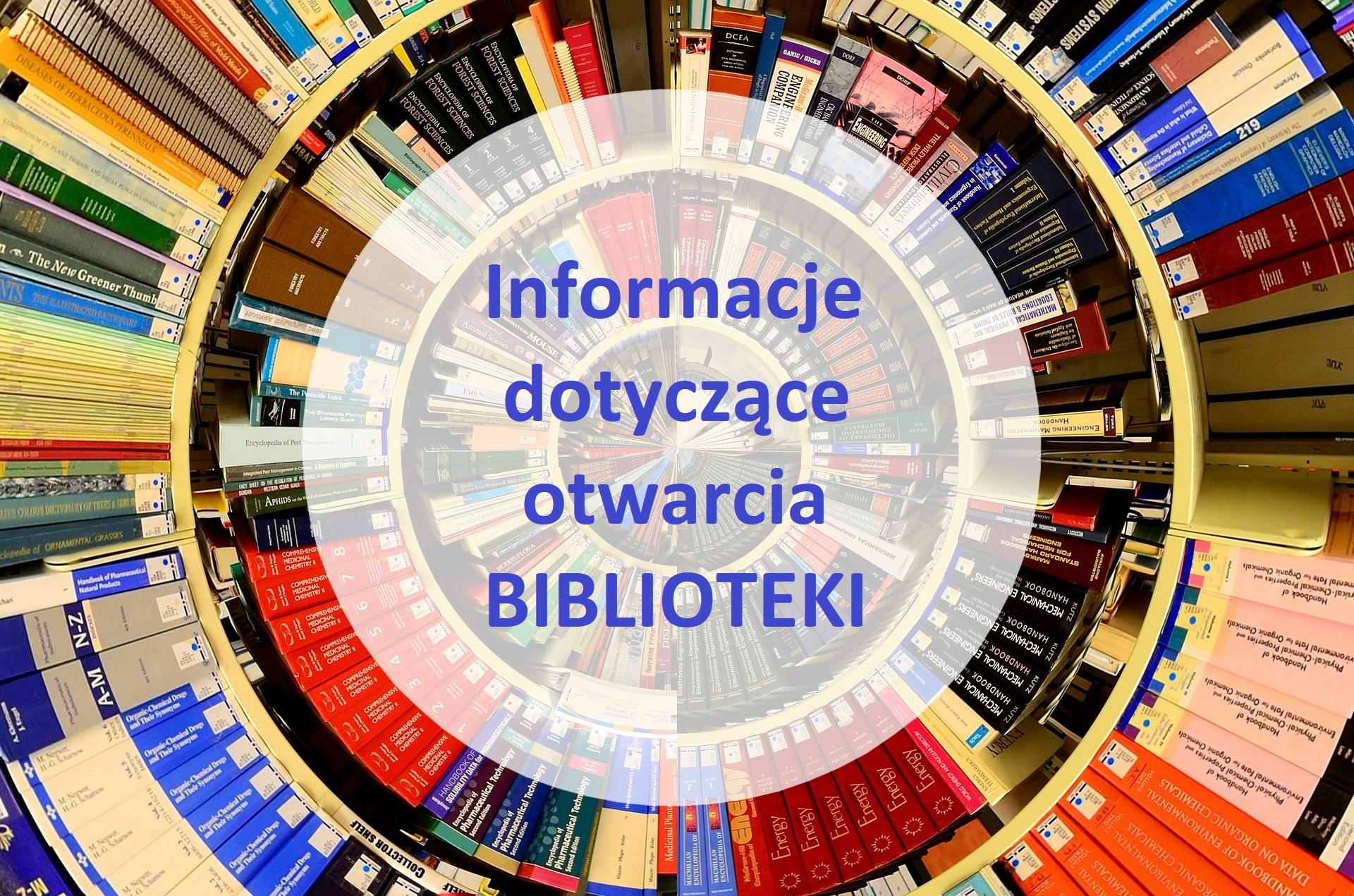 Otwieramy BIBLIOTEKI