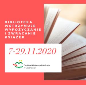 Informacje dotyczące działalności bibliotek