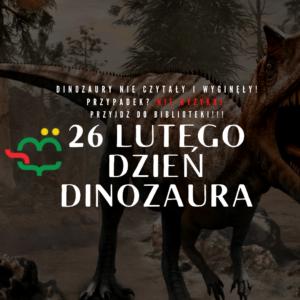Niespodzianki dla dzieci naDzień Dinozaura