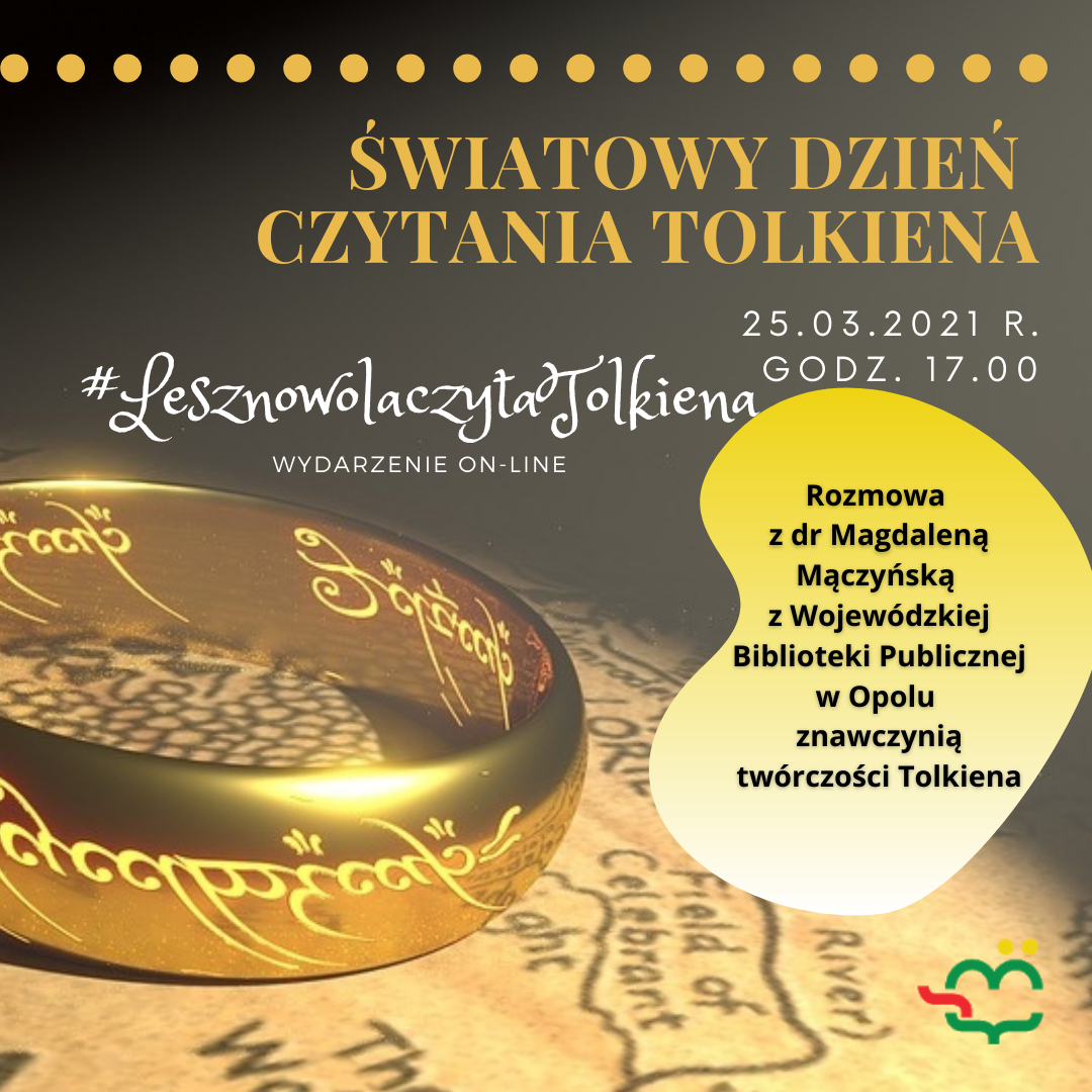 Światowy Dzień Czytania Tolkiena spotkanie on-line