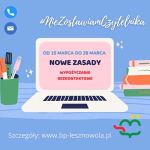 Nowe Zasady – Wypożyczanie Bezkontaktowe