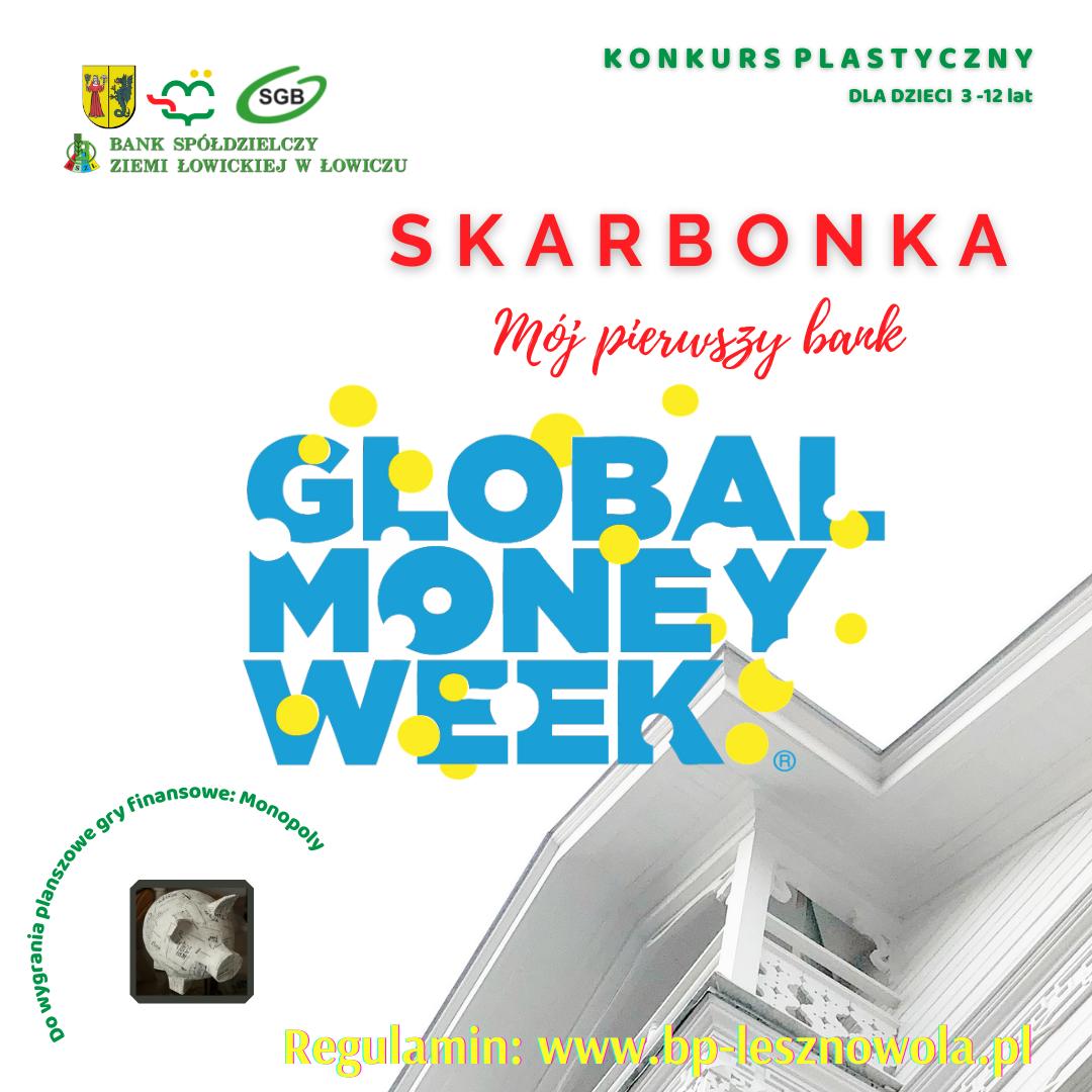 Konkurs plastyczny zokazji Światowego Tygodnia Pieniądza
