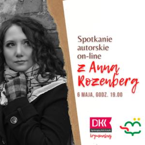 Spotkanie Autorskie zAnną Rozenberg