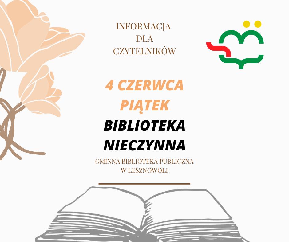 Informacja dla Czytelników
