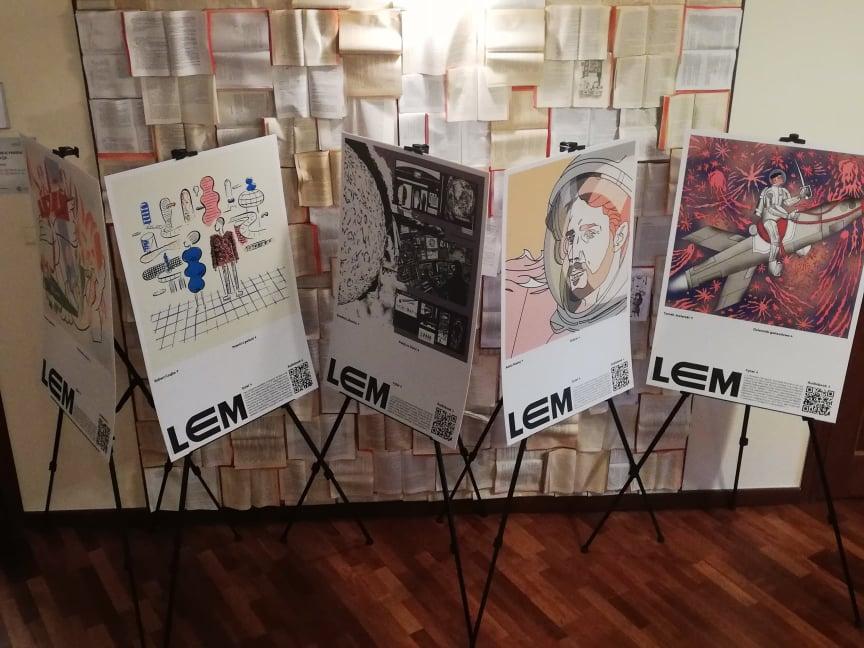 LEM – Wystawa wGBP Lesznowola siedziba wMagdalence